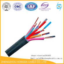 Núcleo de cobre PVC / plástico aislado sin cable de control de la chaqueta