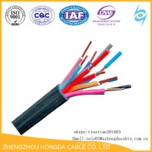 Медный PVC сердечника/пластмассовой изоляцией без контроля куртки кабеля