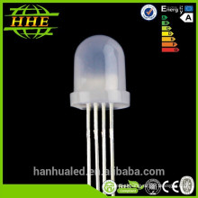 Factory Price Free Samples 5mm 8mm 10mm rgb led diffused Diodes ( CE & RoHS Compliant )