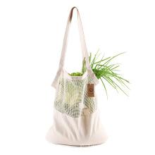 Hot-selling fruit vegetables shoulder bag net mesh bag handbag eco friendly cotton shopping bag