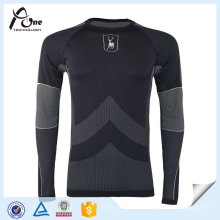 Outdoor Bodybuiding Langarm Thermal Athletic Shirt
