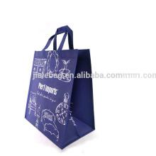 Alibaba торговым обеспечения дешевые Non сплетенный упаковывая Логос напечатанный мешок