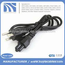 3-штырьковый сетевой адаптер переменного тока Шнур питания US для ноутбука