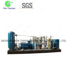 Natural Gas CNG Compressor for Bottle Filling Industries