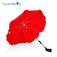 14 Zoll 8 Rippe Regenschirm Pram Kinderwagen Regenschirm