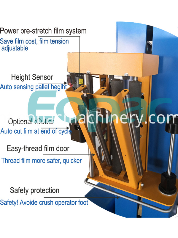 Door Window Stretch Film Wrapping Equipment