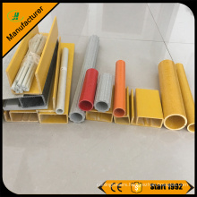 FRP Pultrusion Manufacturer,Customized Size Colored GRP Pipe Price