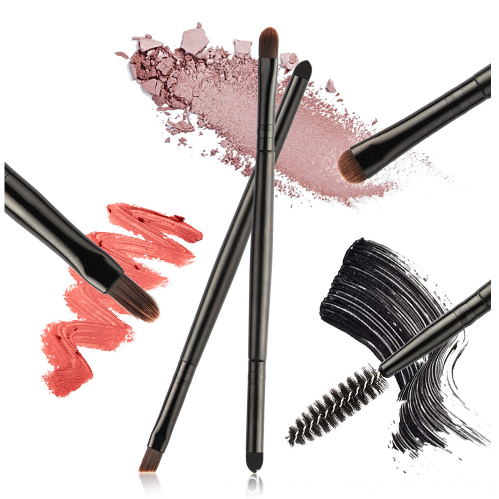 5 Piece Double Head Eye Makeup Brushes 6
