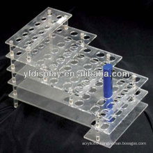 Acrylic Cosmetic Display for Lipstick and Mascara Holder