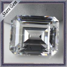 Aaaaa Esmeralda Cut Gemstone Loose Beads