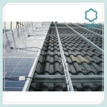Perfiles de aluminio extruido para rieles de Panel Solar