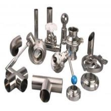 Raccords de tuyaux de tuyaux en acier inoxydable de précision (moulage)