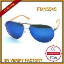 Популярные металлические солнцезащитные очки горячие продавая новую модель фоторамки