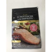 Geräucherter Lachsfisch-Plastiktasche