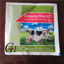 Doxycycline HCL Polvo soluble en agua 50%