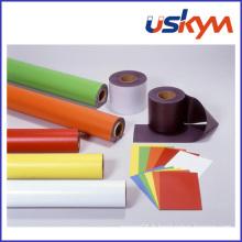Feuille ou rouleau magnétique PVC souple