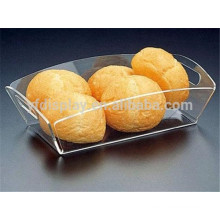 Engraved Clear Acrylic Serving Tray, Transparent Lucite Serving Tray