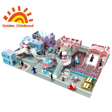 Indoor Toddler Castel Indoor Playground Equipment en venta