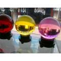 K9 60mm Crystal Clear Glass Ball para Decoração
