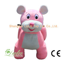 Souris rose marche Animal