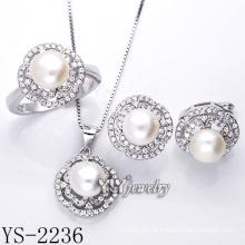 Moda jóias de prata set pérola / prata 925 (ys-2236)