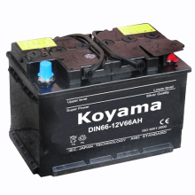 Lower Maintenance Starting Battery DIN66-12V66ah