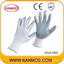 13gauges Nilón Nitrilo Jersey tejido guantes de trabajo de seguridad industrial (53201NL)