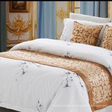100% Polyester Stoff Hotel Bettläufer