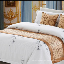 100% Polyester Fabric Hotel Bed Runner