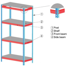 High quality and resonable price light Duty Storage Racking Combination