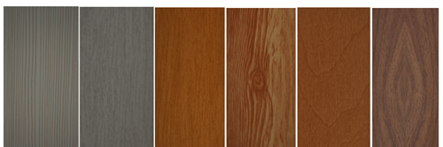 wood grain fauxwood blinds