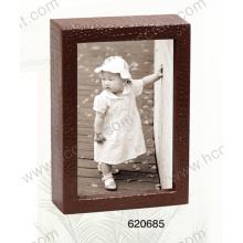 Cadre photo en cuir pour décoration maison (677037)