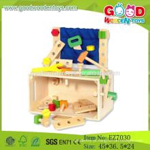 2015 Novas ferramentas de madeira, brinquedos de caixa, Caixa de ferramentas de brinquedos populares, Brinquedo de brinquedo de madeira
