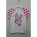 girl's cotton knitted t-shirt