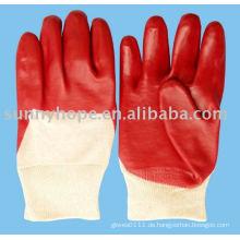 PVC-Tauchhandschuhe für schwere Arbeit