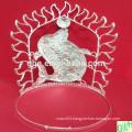 Pearl and Rhinestone Handmade Wedding Tiara Crown