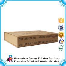 Imagen de caja de regalo de forma de libro de cartón falsa personalizada personalizada