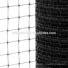 черный горячая продажа полипропиленовой УФ-олень загородка плетения цыплятины сетки экспорт в США
