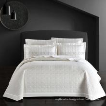 Luxurious Hotel Bedspread Cal King Cotton All-Season