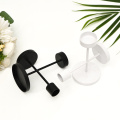 Modern Black Candle Holder Metal Candlesticks Contemporary Tabletop Decorations Newlywed Gift