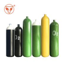 Medizinische Gasflasche nach ISO CE 40l Sauerstoffflasche
