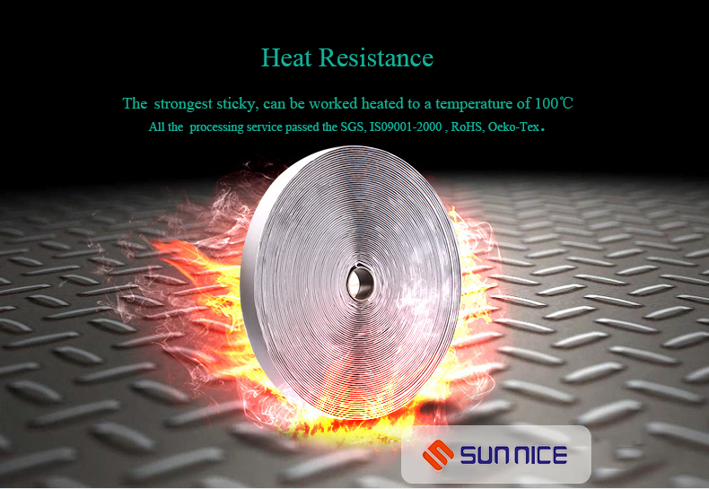 heat resistance magic straps