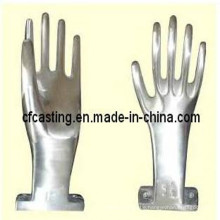 Edelstahl-Handschuhform zum Gießen