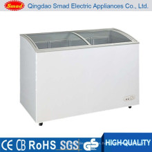 268L Double Doors Single Temperature Ice Cream Freezer