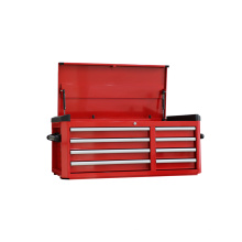 Caja de herramientas de 43 pulgadas con guías de rodamiento de bolas