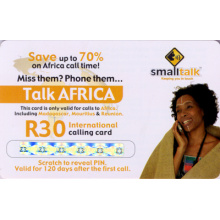 Scratch off Mobile Phone Recharge Card