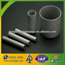 Ss tubo de acero inoxidable sin costura / tubo