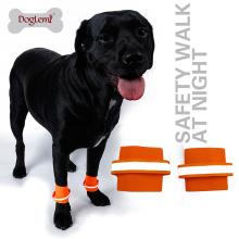 Preço de fábrica 2 pcs por conjunto Refletindo segurança cão pulseira Pet Wristband