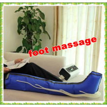 digital air pneumatic compression lymphatic drainage massage machine