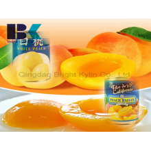Visiting Relatives and Friends of Canned Yellow Peach in Syrup